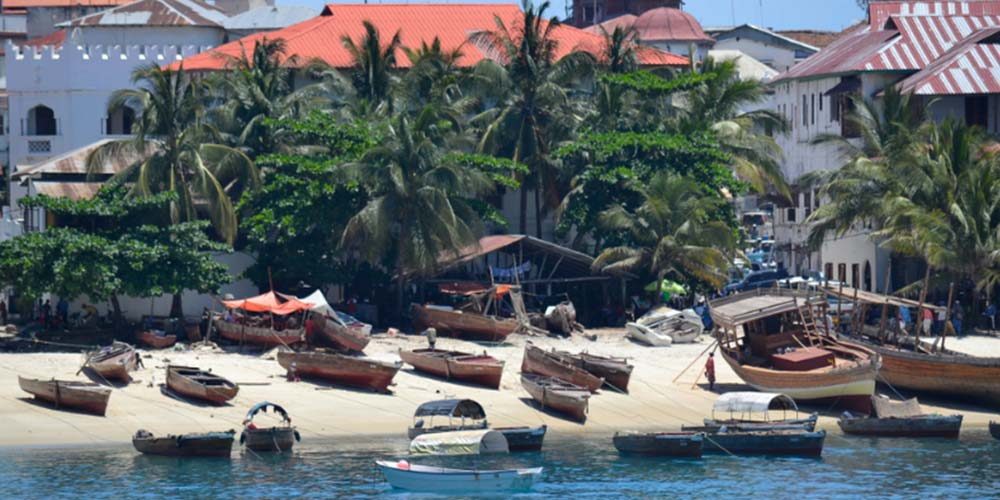 Stone Town, Zanzibar - Tanzanya