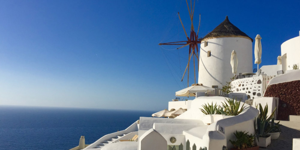 Bu Rotalar Tam Size Göre Rados Ve Santorini Yunanistan