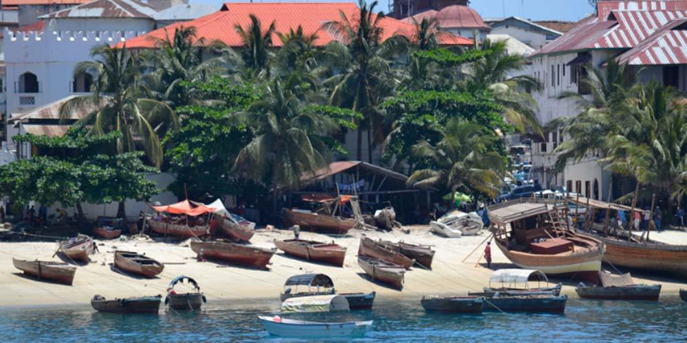 Bu Rotalar Tam Size Göre Stone Town Zanzibar Tanzanya