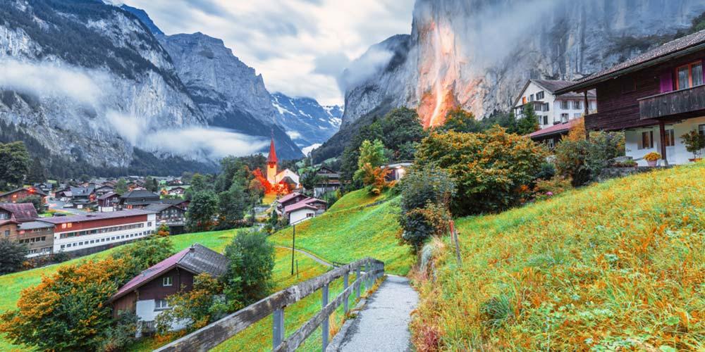 Bu Rotalar Tam Size Göre İsviçre Alpleri