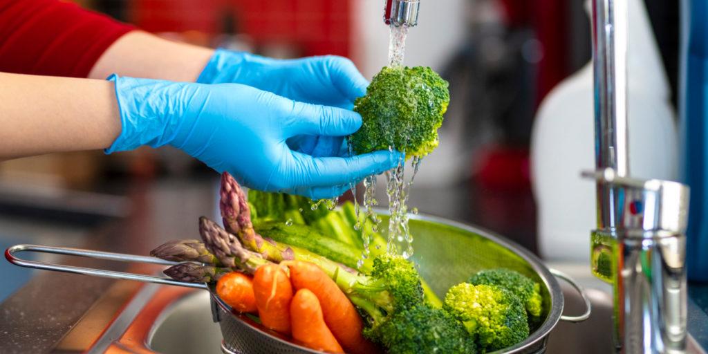 Gıdalar Nasıl Dezenfekte Edilmeli